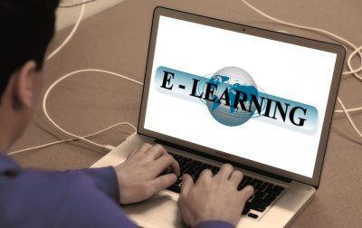 learn, online, laptop